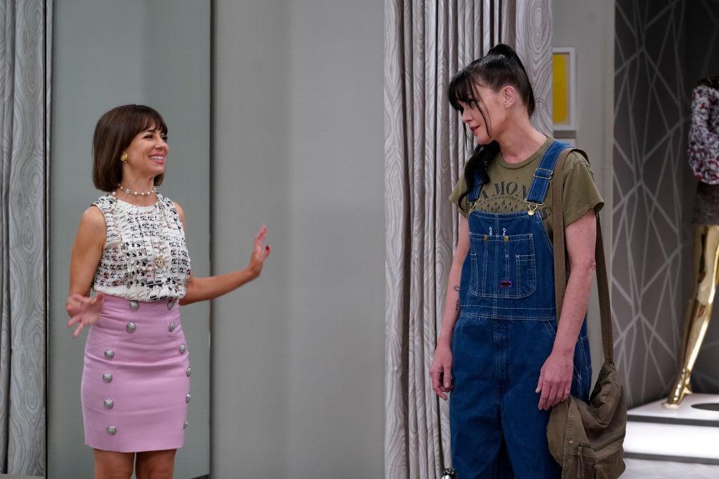 Natasha Leggero as Elizabeth and Pauley Perrette as Jackie | Cliff Lipson/CBS via Getty Images