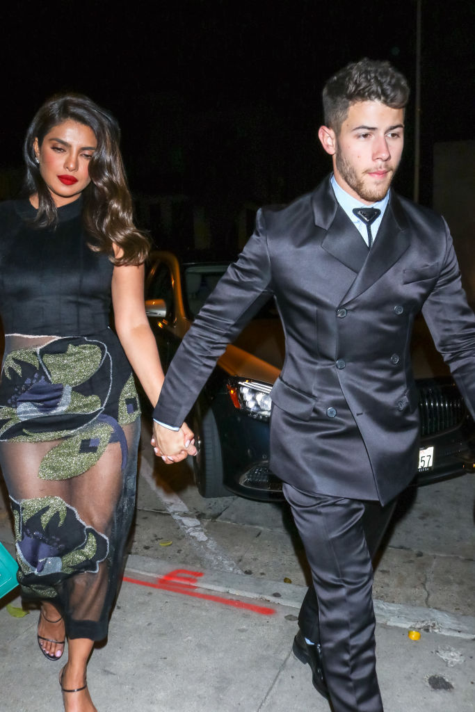 Priyanka Chopra and Nick Jonas in L.A,