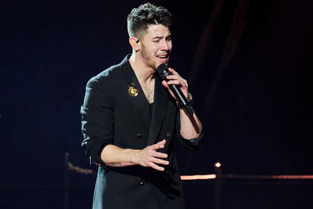 Nick Jonas of The Jonas Brothers