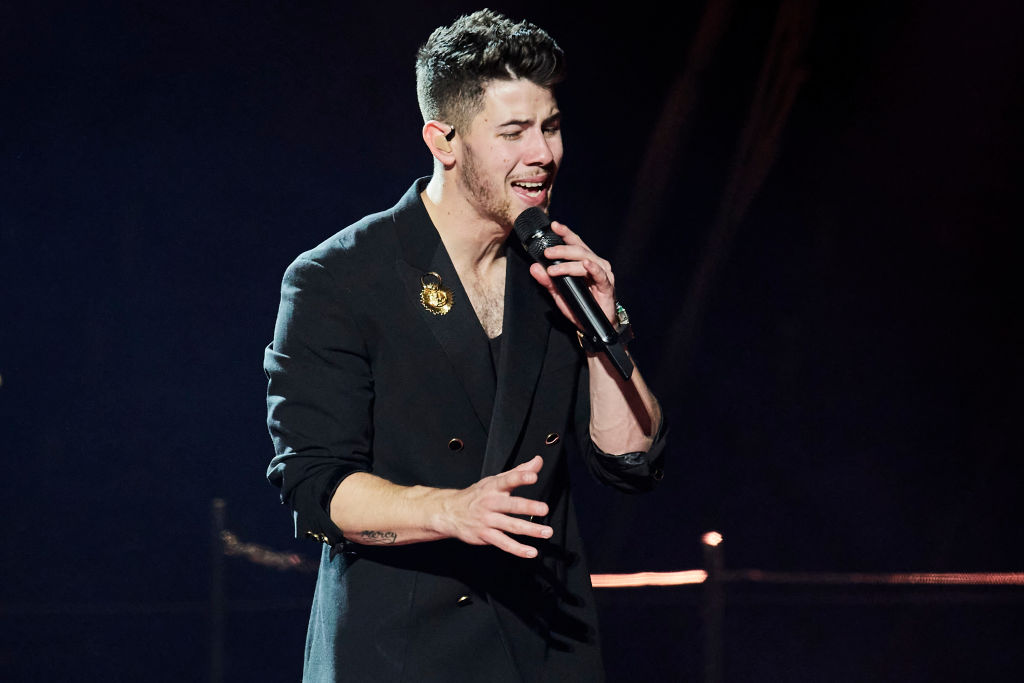 Nick Jonas of The Jonas Brothers