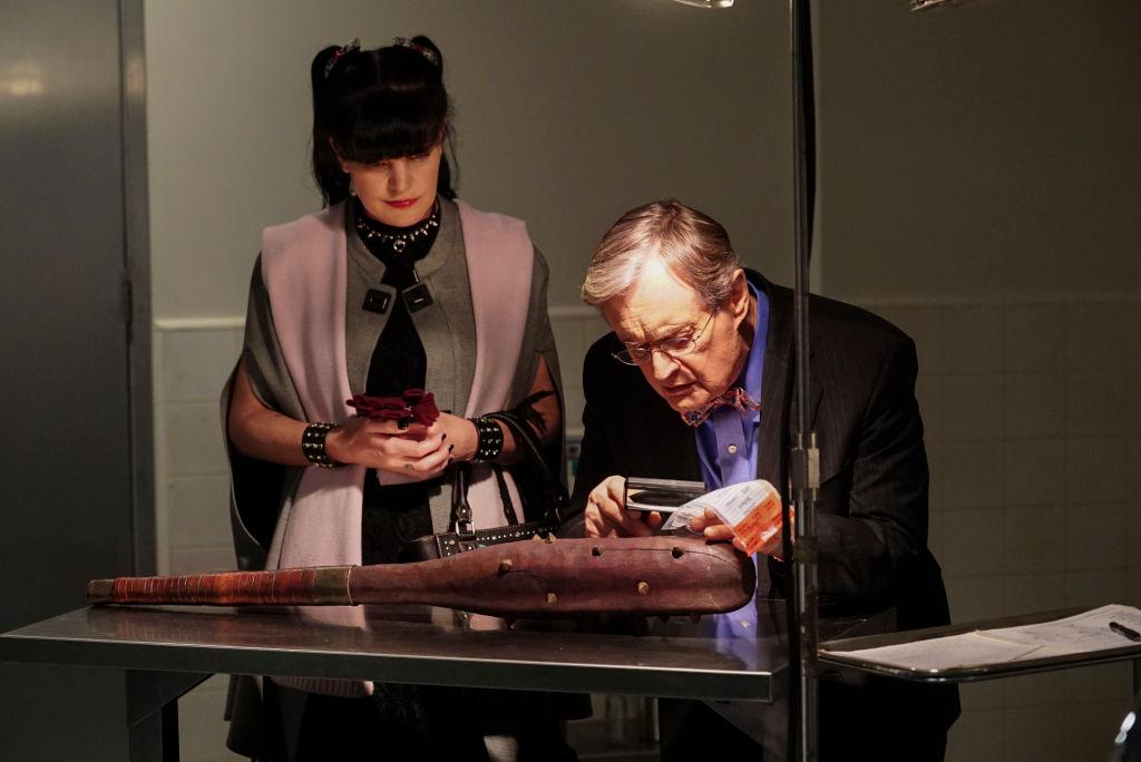 Pauley Perrette and David McCallum on NCIS | Monty Brinton/CBS via Getty Images