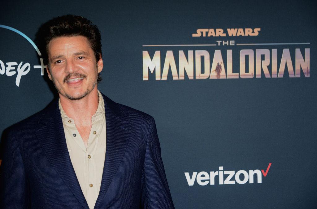 Pedro Pascal at 'The Mandalorian' premiere