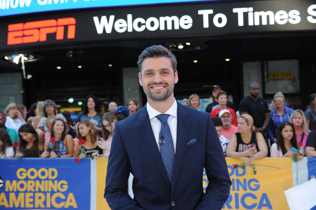 """Peter Kraus of """"The Bachelor"""" franchise on ABC's """"Good Morning America"""" - 2017"""