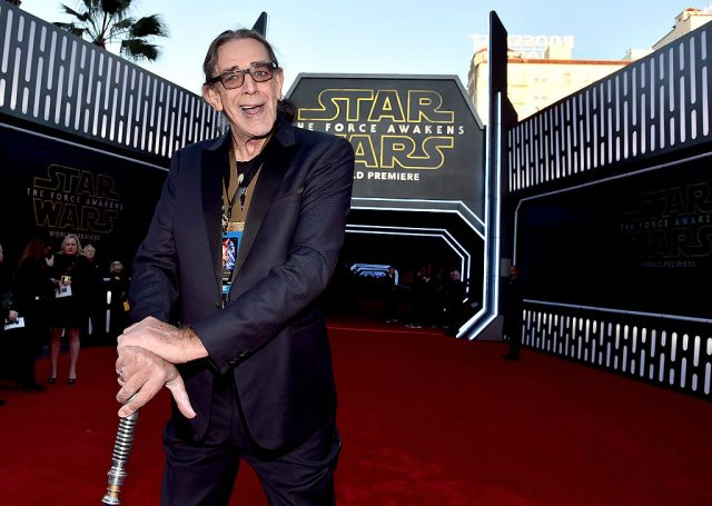 Peter Mayhew at the 'Star Wars: The Force Awakens' premiere