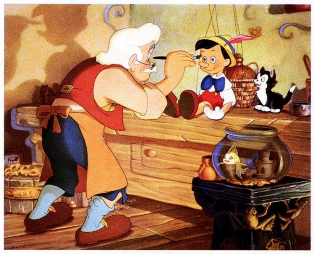 Disney's animated film, 'Pinocchio'