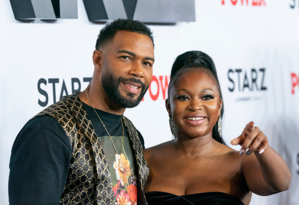 Omari Hardwick and Naturi Naughton attend STARZ Power Season 6