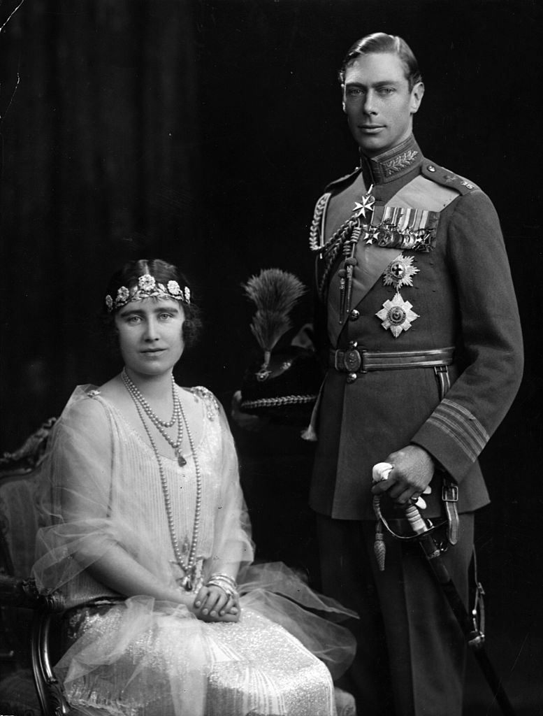 Prince Albert and Elizabeth Bowes-Lyon (later King George VI and the Queen Mother)