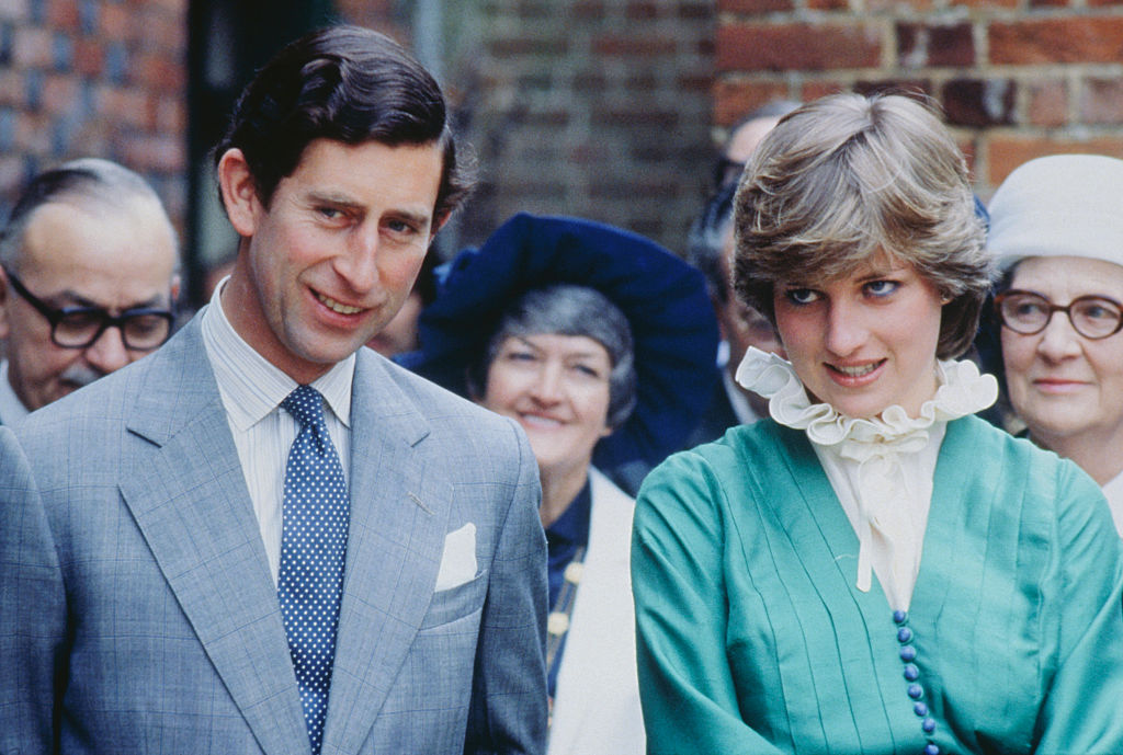 Prince Charles and Lady Diana Spencer opening the Mountbatten Exhibition at Broadlands, the home of Lord Louis Mountbatten, who was murdered in Ireland.
