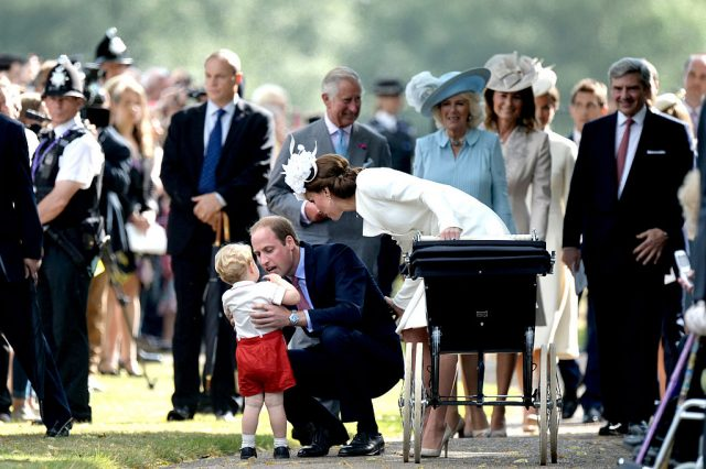 Prince William and Kate Middleton with Prince George and Princess Charlotte