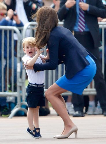 Prince George and Kate Middleton, 2016