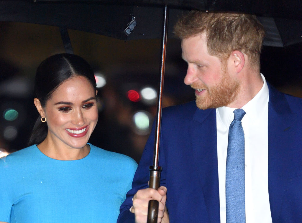 Prince Harry and Meghan, Duchess of Sussex attend The Endeavour Fund Awards 2020