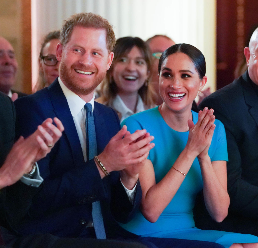 Prince Harry and Meghan, Duchess of Sussex attend the annual Endeavour Fund Awards at Mansion House on March 5, 2020