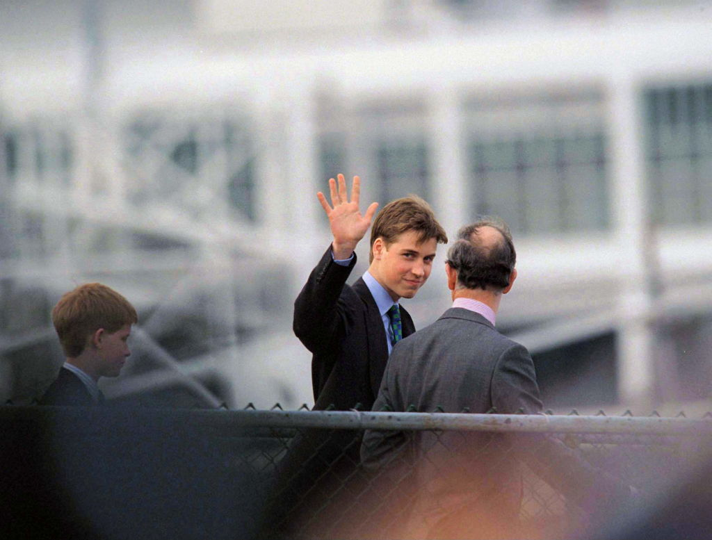 Prince William, Prince Charles, and Prince Harry Leave Vancouver, Canada