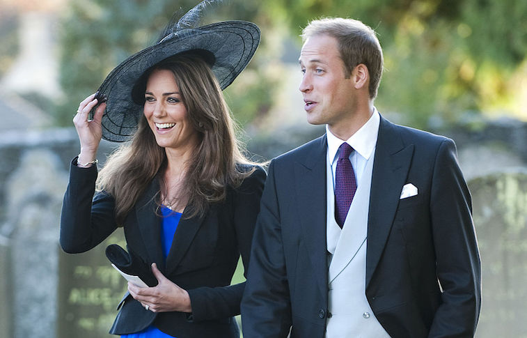 Prince William and Kate Middleton shortly before their engagement in 2010
