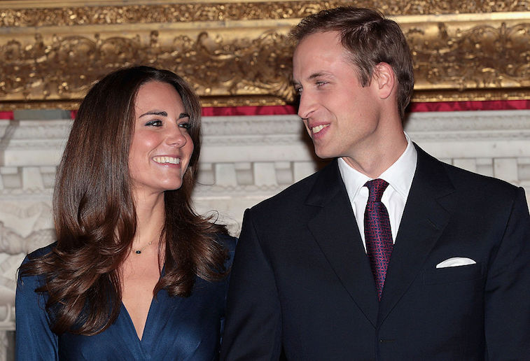 Prince William and Kate Middleton in 2010