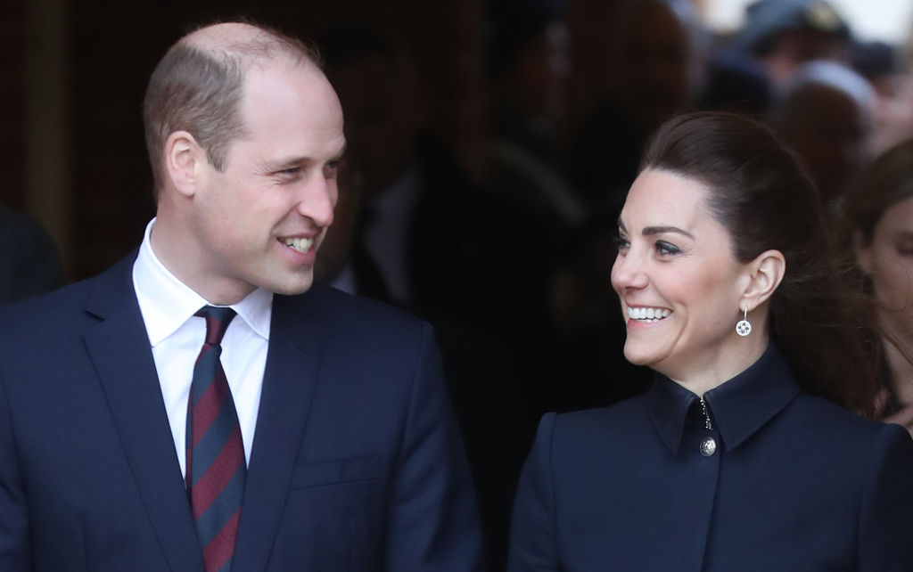 Prince William and Catherine, Duchess of Cambridge depart the Defence Medical Rehabilitation Centre, Stanford Hall