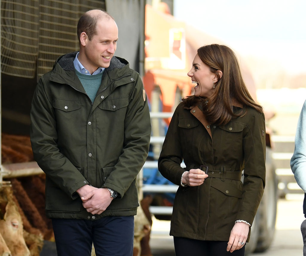 Prince William and Catherine, Duchess of Cambridge visit Teagasc Research Farm