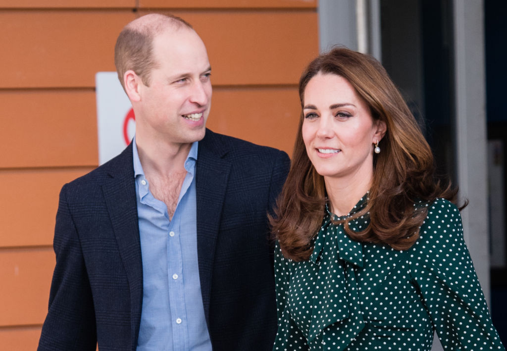 Prince William, Duke of Cambridge and Catherine, Duchess of Cambridge visit Evelina London Children's Hospital on December 11, 2018
