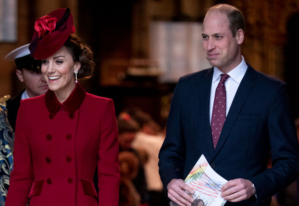 Prince William and Catherine, Duchess of Cambridge attend the Commonwealth Day Service 2020