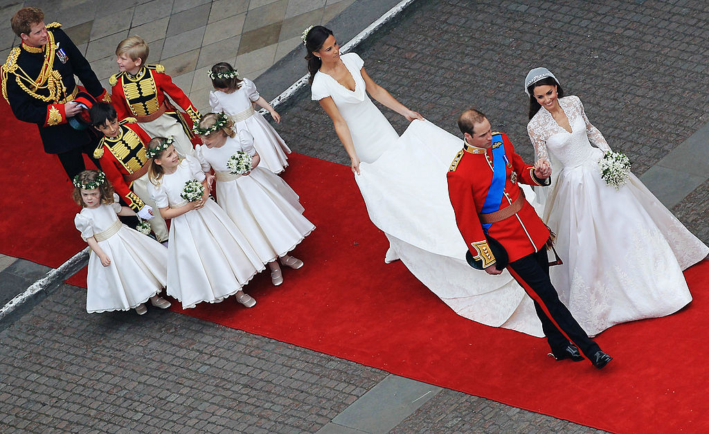 Prince William and Kate Middleton's wedding party