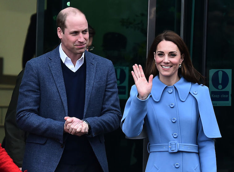 See Prince William and Kate Middleton thank teachers for their service