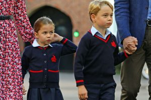 Prince George and Princess Charlotte Send Queen Elizabeth Video Messages All the Time