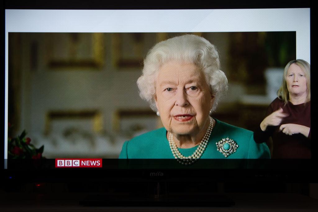 Queen Elizabeth II Televised Address April 5, 2020