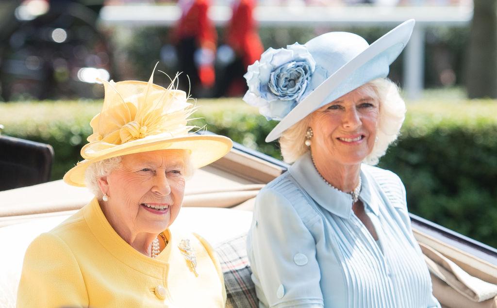 Queen Elizabeth and Camilla, Duchess of Cornwall