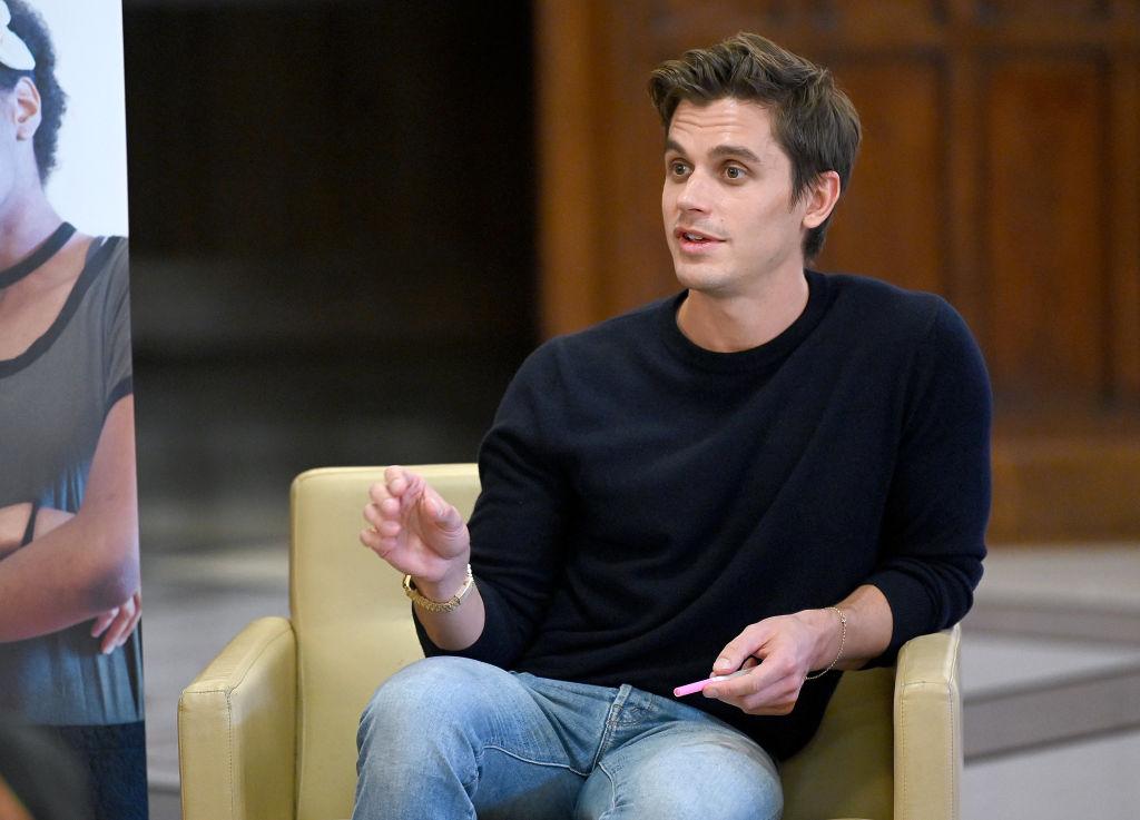 Antoni Porowski speaks with LGBTQ student leaders In NYC