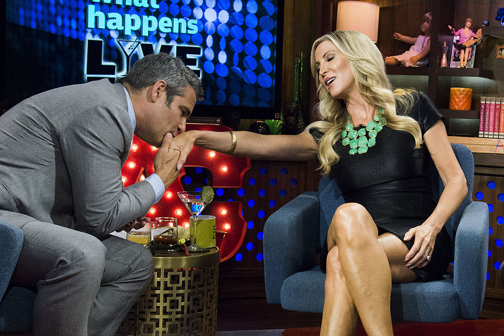 Andy Cohen and Lauri Peterson