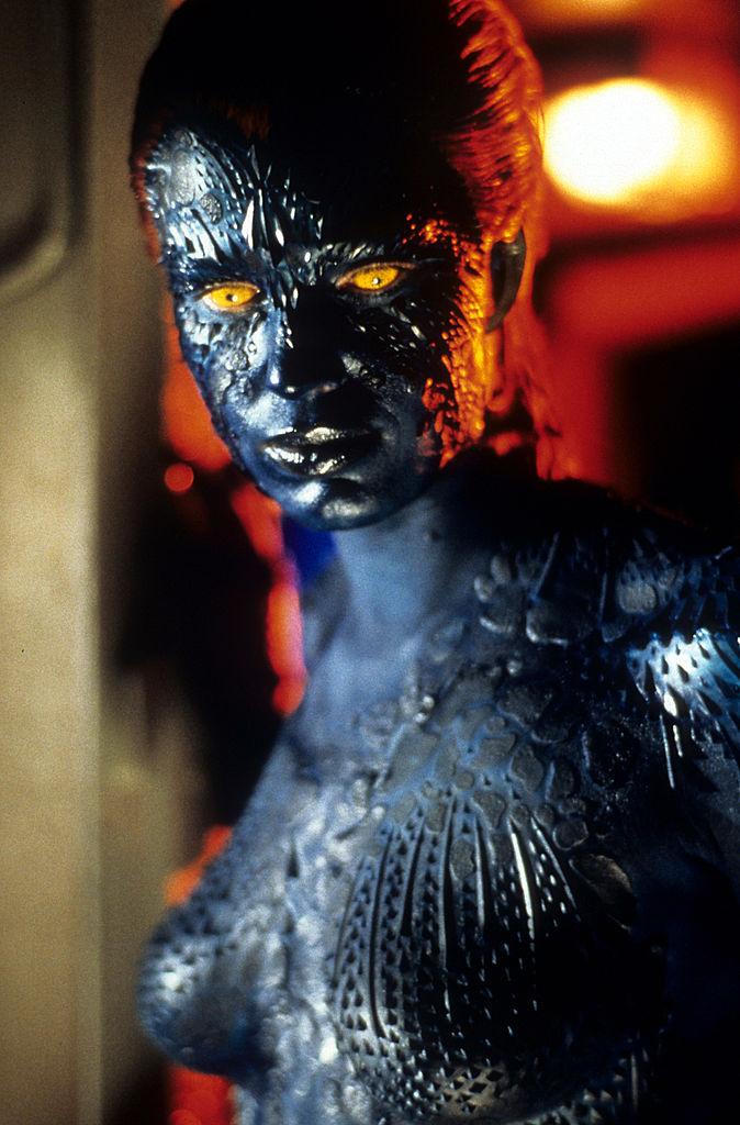 Rebecca Romijn in X-Men as Mystique