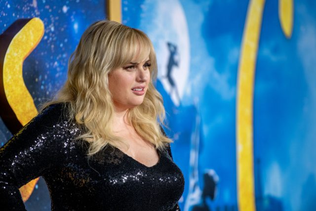 Rebel Wilson at the 'Cats' world premiere