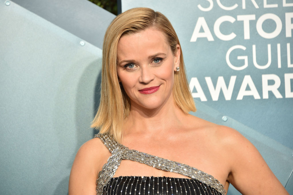 Reese Witherspoon on the red carpet at an award show in January 2020