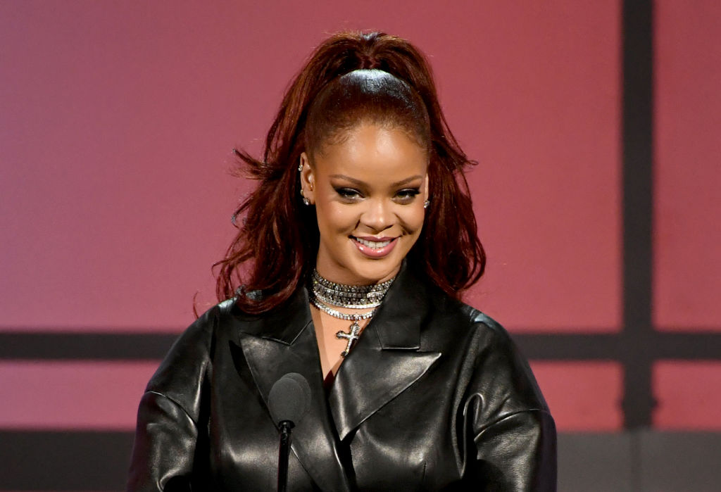 Rihanna at an award show in June 2019 in Los Angeles, California