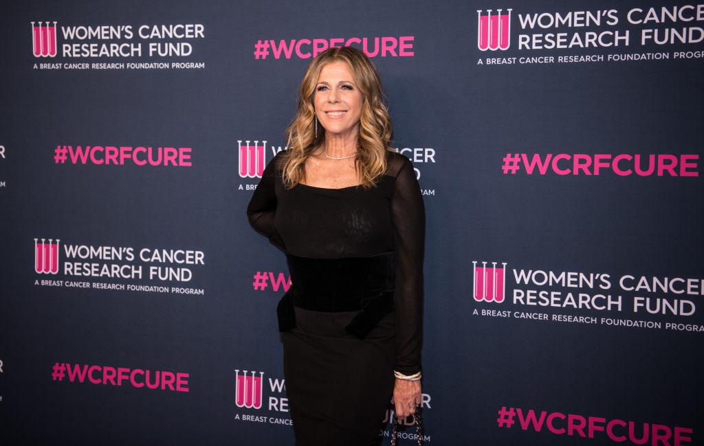 Cancer research fundraiser: Rita Wilson