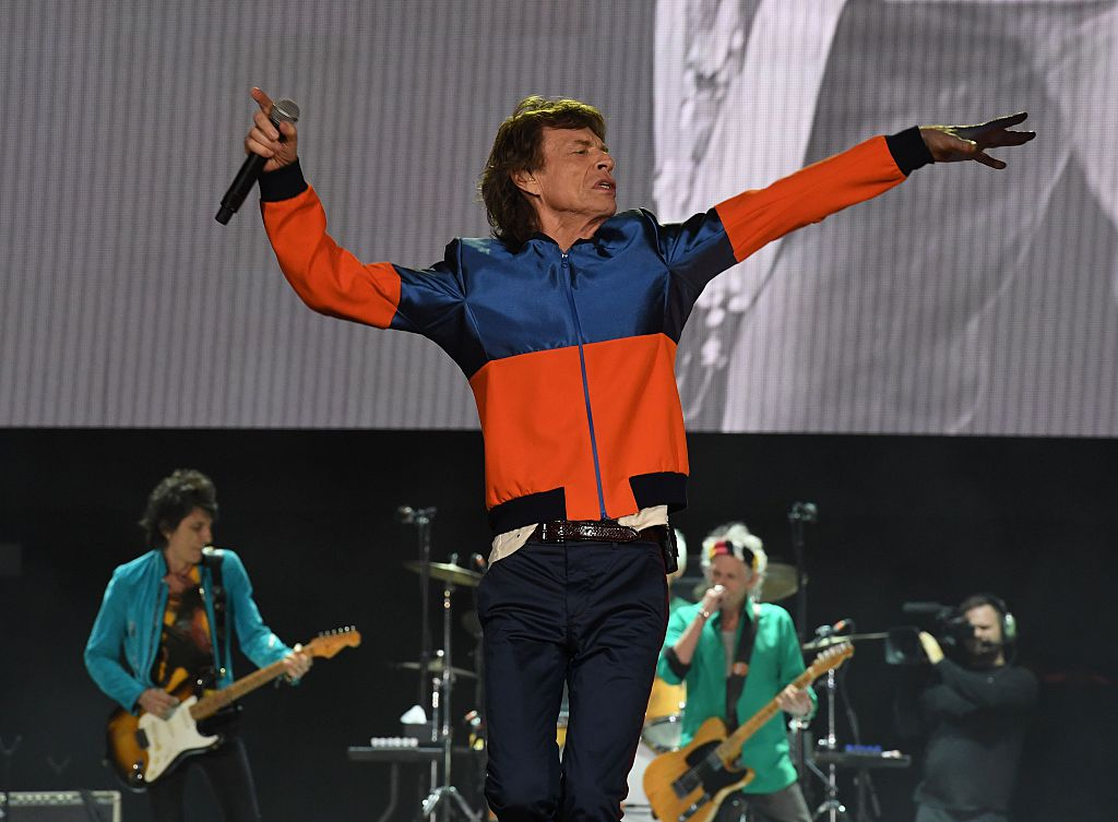 Rolling Stones' Mick Jagger