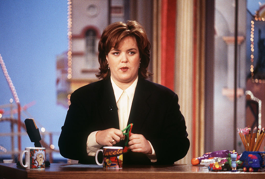 Talk show host Rosie O'Donnell