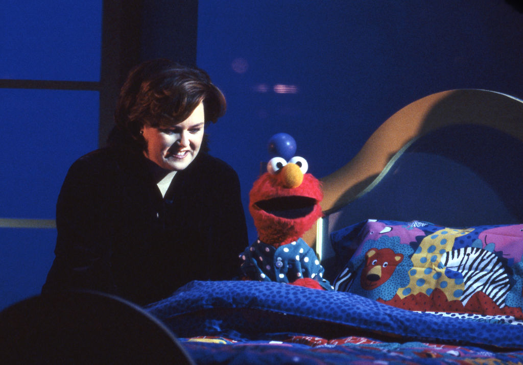 Rosie O'Donnell and Elmo