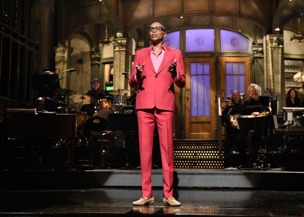 Host RuPaul on 'Saturday Night Live'