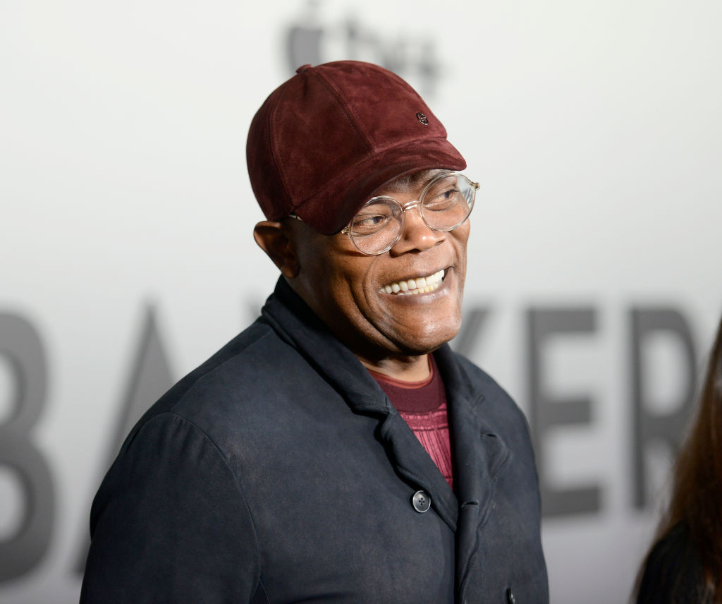 Samuel L. Jackson Reads New Poem 'Stay The *#!% At Home'