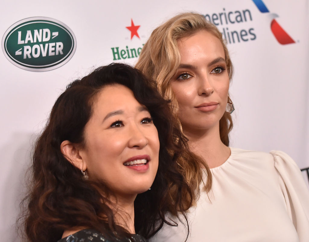 Sandra Oh and Jodie Comer of Killing Eve season 3 episode 1