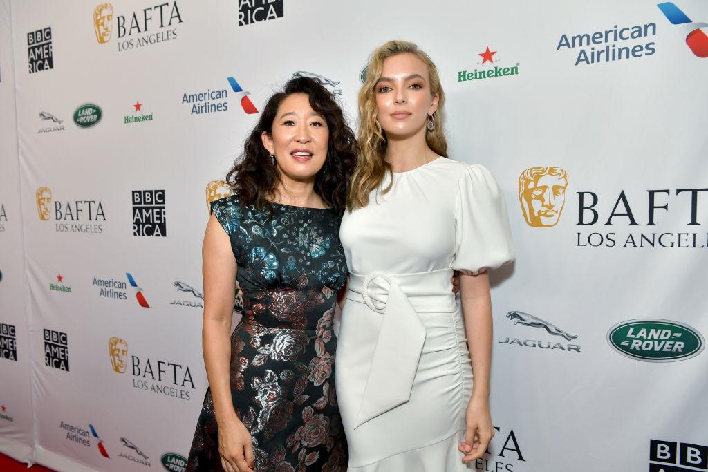 Sandra Oh and Jodie Comer of Killing Eve season 3