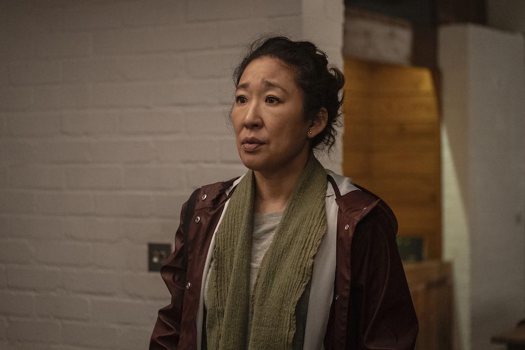 Sandra Oh as Eve Polastri in Killing Eve season 3 episode 2