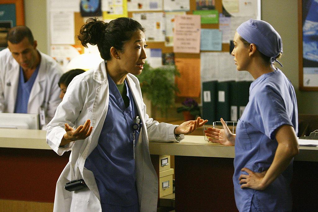 Sandra Oh and Ellen Pompeo of 'Grey's Anatomy'