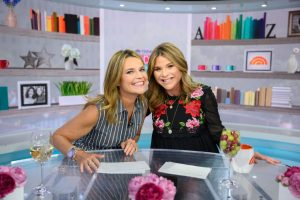 'Today Show:' Savannah Guthrie is Godmother to Co-Host and BFF Jenna Bush Hager's Son