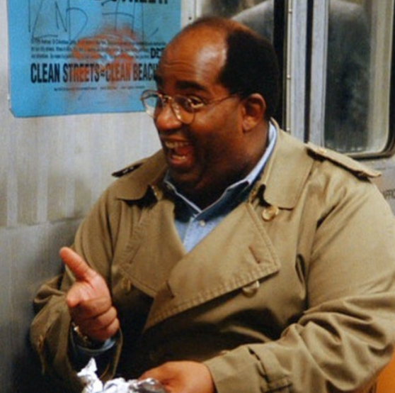 Al Roker in 'The Cigar Store Indian' episode of 'Seinfeld'