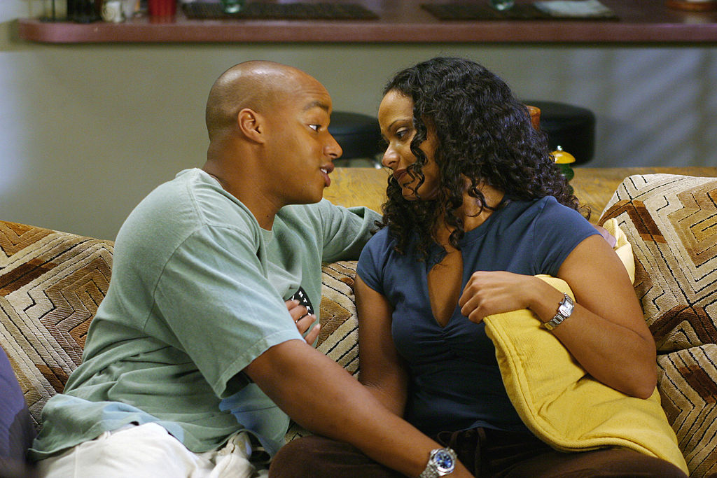 Donald Faison as Dr. Christopher Turk, Judy Reyes as Nurse Carla Espinoza on 'Scrubs'