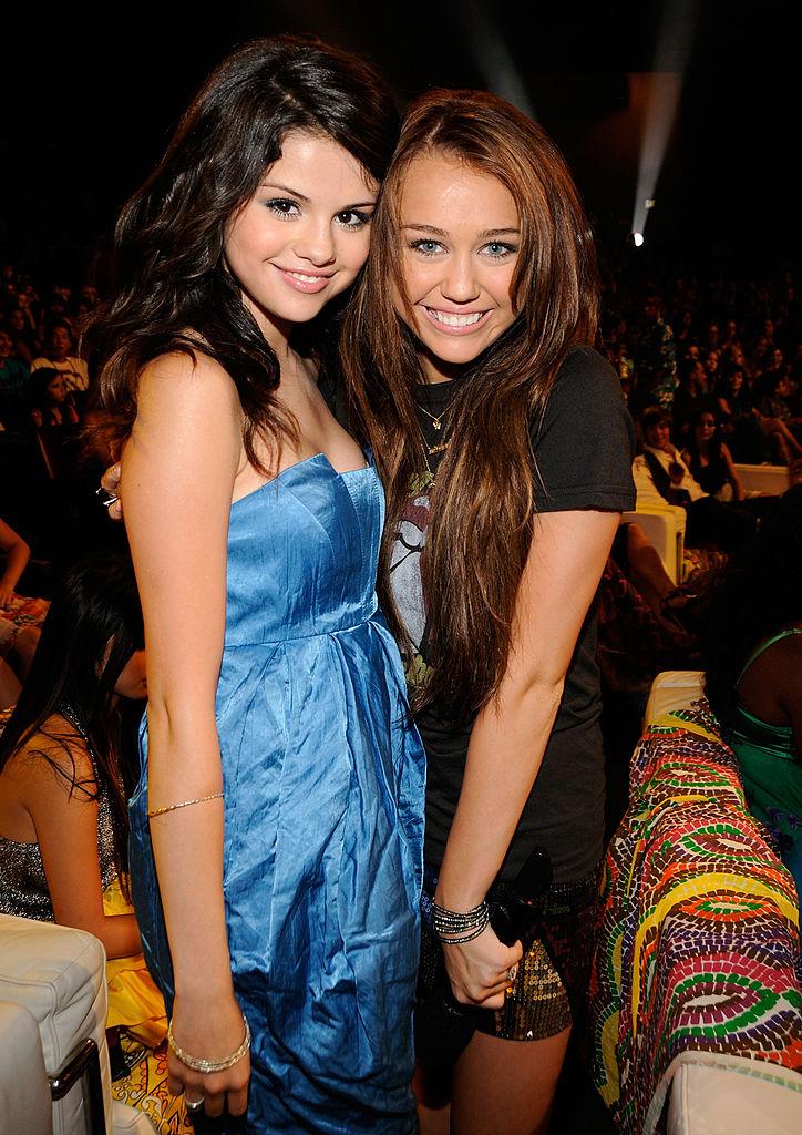 Selena Gomez and Miley Cyrus