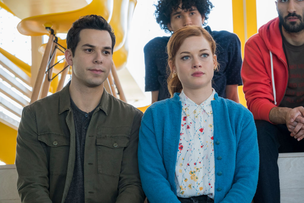Skylar Astin and Jane Levy on Zoey's Extraordinary Playlist | James Dittiger/NBC/NBCU Photo Bank via Getty Images