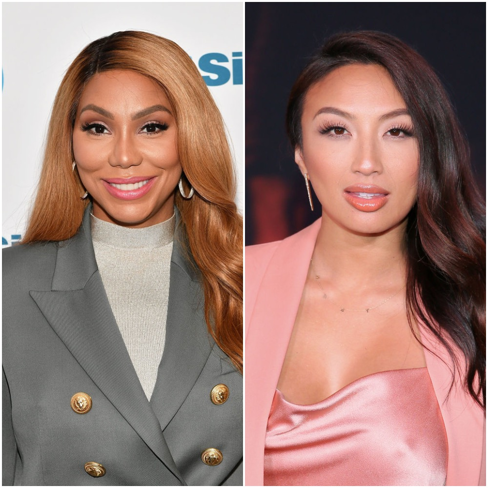 Tamar Braxton and Jeannie Mai